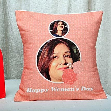 Personalised Womens Day Cushion