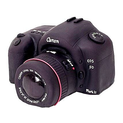 Photo Camera Cake 3kg Eggless