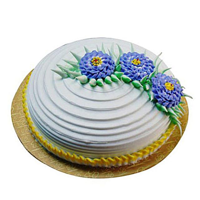 Pineapple Swirl Cake Half kg Eggless