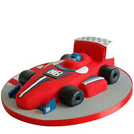 Red Hot Ferrari Car Cake 3kg Eggless