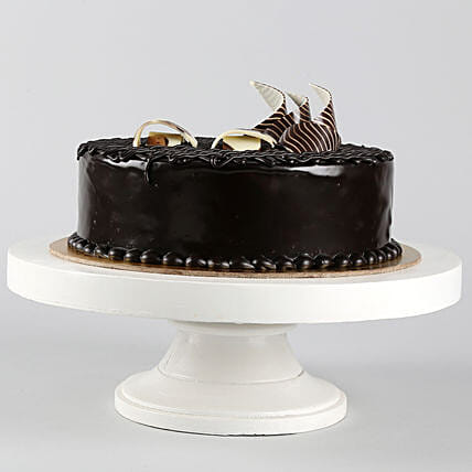 Rich Chocolate Splash Cake 1kg Eggless