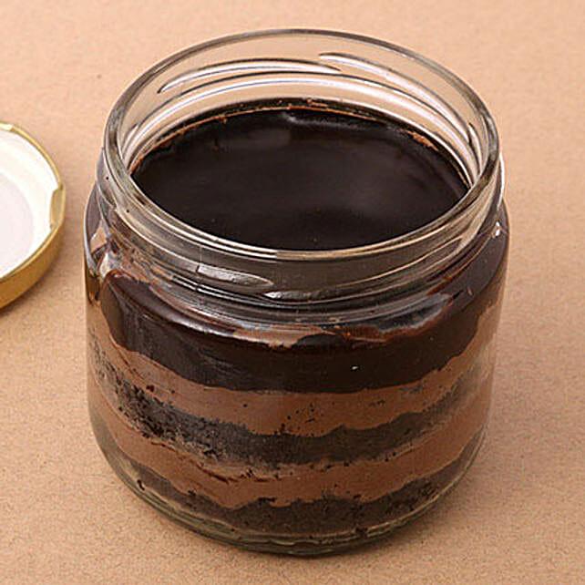 Robust Coffee Jar Cake Eggless Set of 4