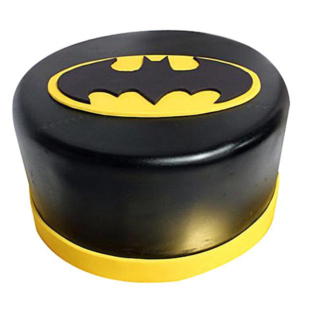Shining Batman Cream Cake 2kg Eggless