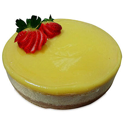 Special Delicious Lemon Cheese Cake 1kg Eggless