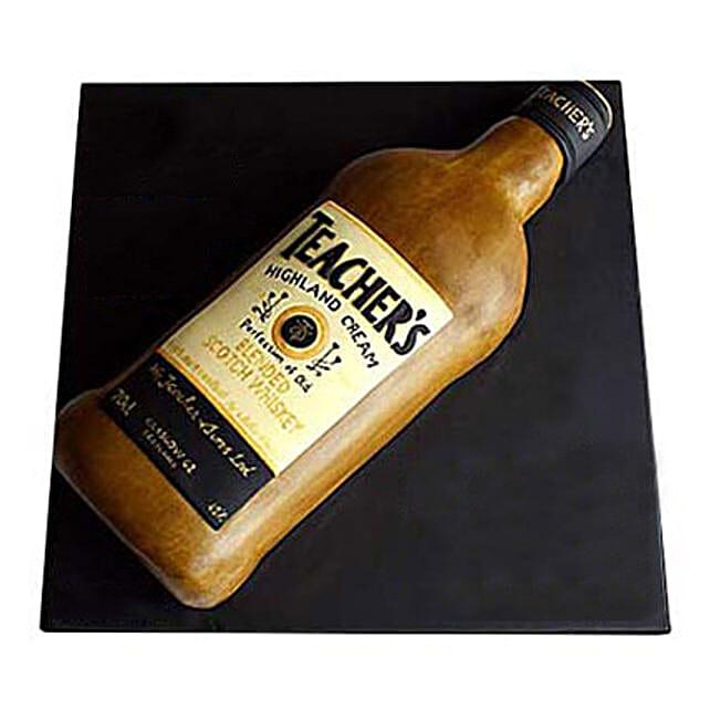 Teachers Scotch Whisky Cake 5kg Eggless