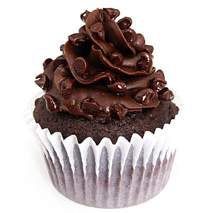 Tripple Chocolate Cupcakes 6 Eggless