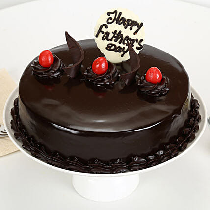 Truffle Cake For Fathers Day Half kg