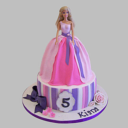 Wishful Barbie Cake 2Kg Chocolate