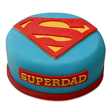 Yummy Super Dad Special Cake 1kg Vanilla Eggless