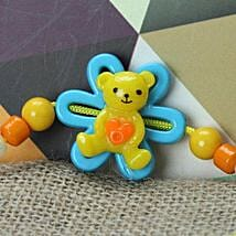 Cute Little Teddy Rakhi LEB: Send Rakhi to Lebanon