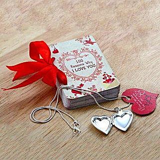 100 Reasons of Love n Locket: Books