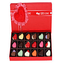 18 Heart Shaped Chocolates: New Arrival Gifts