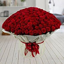 500 Red Roses Premium Bouquet: Send Pooja Thali to Mumbai