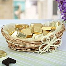 A Basket Of Golden Treat: Send Diwali Gifts for Him