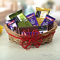 A Basket Of Sweet Treat: Cadbury Chocolates