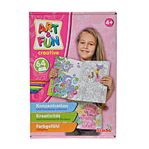 A N F Color Me Paint Set Girls with Cool Dude Smiley: Gifts for Kids