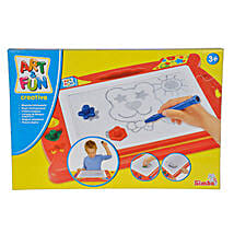 A N F Magic Drawing Board with Cool Dude Smiley: Educational Games