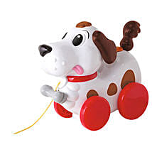 Abc Pull Along Dog with Cool Dude Smiley: Gifts for Kids