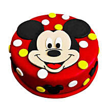 Adorable Mickey Mouse Cake: Cake Delivery in Kanchipuram
