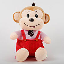 Adorable Monkey Soft Toy: Send Soft Toys for Kids