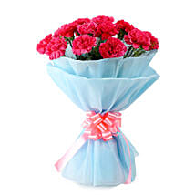Adorable Pink Carnations Bouquet: Mumbai gifts