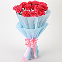 Adorable Pink Carnations Bouquet: Mothers Day Gifts to Jaipur