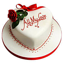 All My Love Cake: 25Th Anniversary Gifts