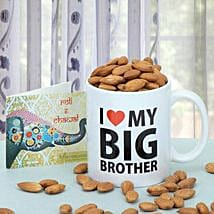 Almonds In A Mug: Bhai Dooj Gifts Srinagar