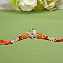 American Diamond Turtle Rakhi: Send American Diamond Rakhi