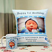 Angelic Dreams Personalized Combo: Personalised Cushions for Wife