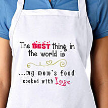 Apron For My Moms Food With Love: Mothers Day Gifts Gorakhpur