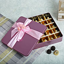 Assorted Chocolates Pink Box: Send Valentine Gifts to Amritsar