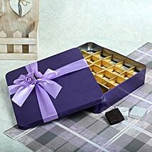 Assorted Chocolates Purple Box: Valentine Gifts to Surat