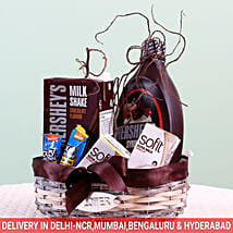 Assorted Goodies Hershey's Gift Basket: Send Gourmet Gifts for Him
