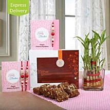 Awesome Lucky Rakhi Hamper: Send Lucky Bamboo to Pune