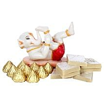 Bal Ganesha Combo: Handicrafts to Lucknow