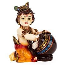 Bal Krishna Idol: Send Handicraft Gifts to Noida