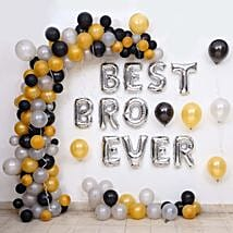Balloon Décor For Best Bro Ever: Balloons Decorations