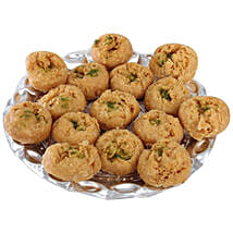 Balushahi In Silver Tray: Sweets to Patna