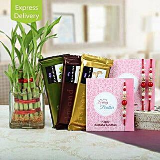 Bamboo N Chocolate Special Rakhi: