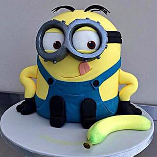 Banana N Bob Minion Cake: Cake Delivery in Kalyan