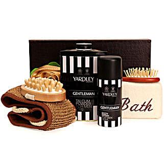 Bath Kit For Men: Cosmetics & Spa Hampers - Birthday