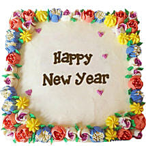 Beautiful Happy New Year Cream Cakes: New Year Gifts for Friend