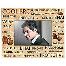 Best Bro Ever Photo Frame: Personalised Photo Frames Mumbai