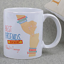 Best Friends Ceramic Mug: Friendship Day Personalised Mugs
