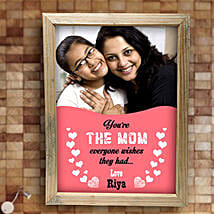 Best Mom Personalized Frame: Personalised Gifts Bokaro