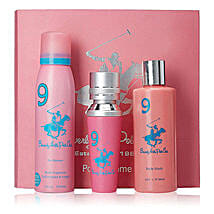 Beverly Hills 1982 Pink Women Gift Set: Send Perfumes for Her