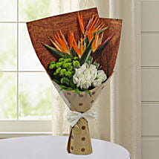 Bird Of Paradise Special Bunch: Send Flowers to Tirupati