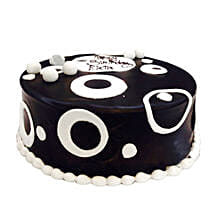 Black and White Cake: Designer Cakes to Lucknow
