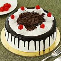 Black Forest Cake: Send Gifts to Tezpur